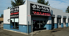 K&M Auto Service 1561 SE 122nd Ave. Portland, OR